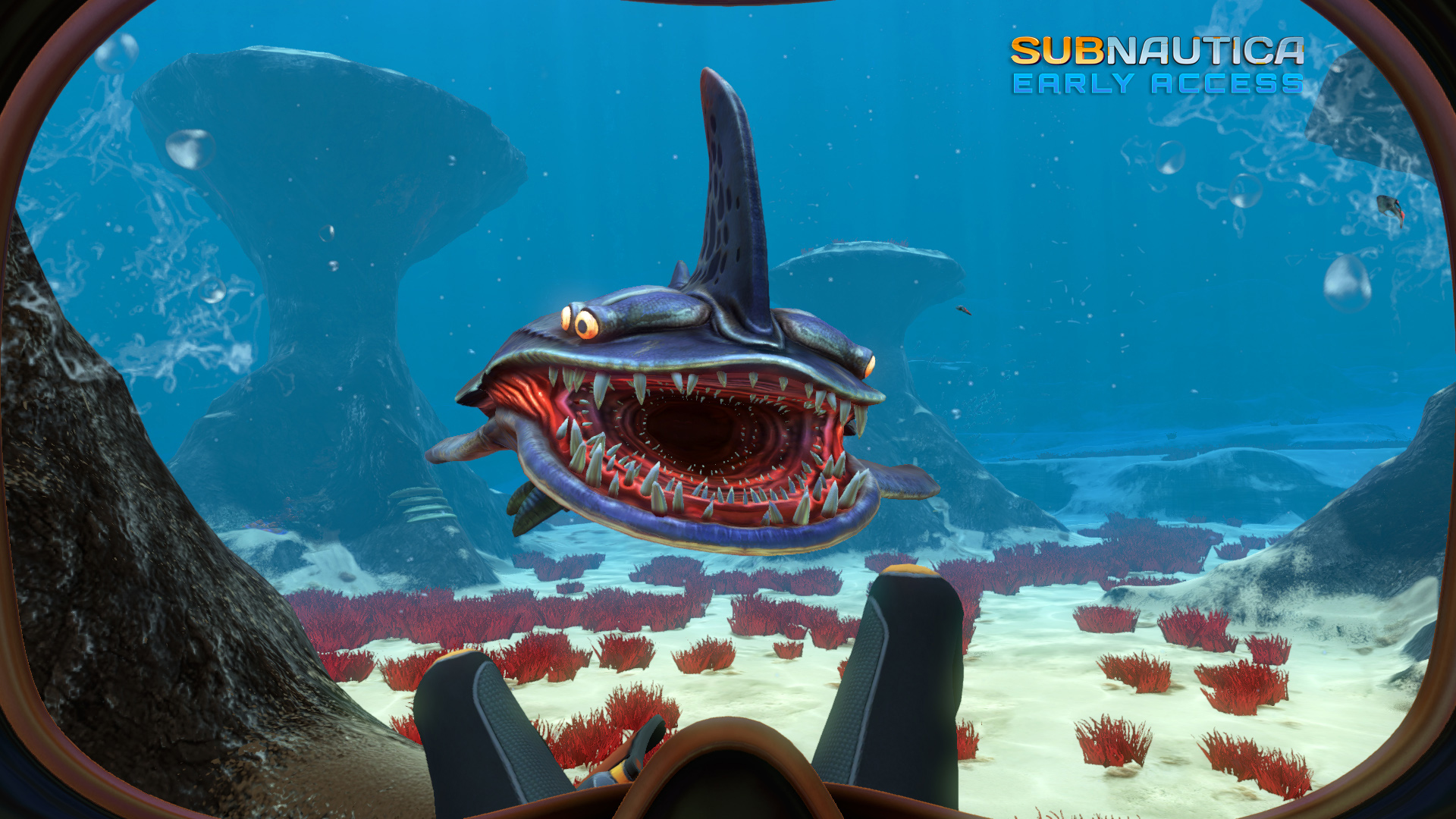 subnautica is a new underwater exploration fps from natural
