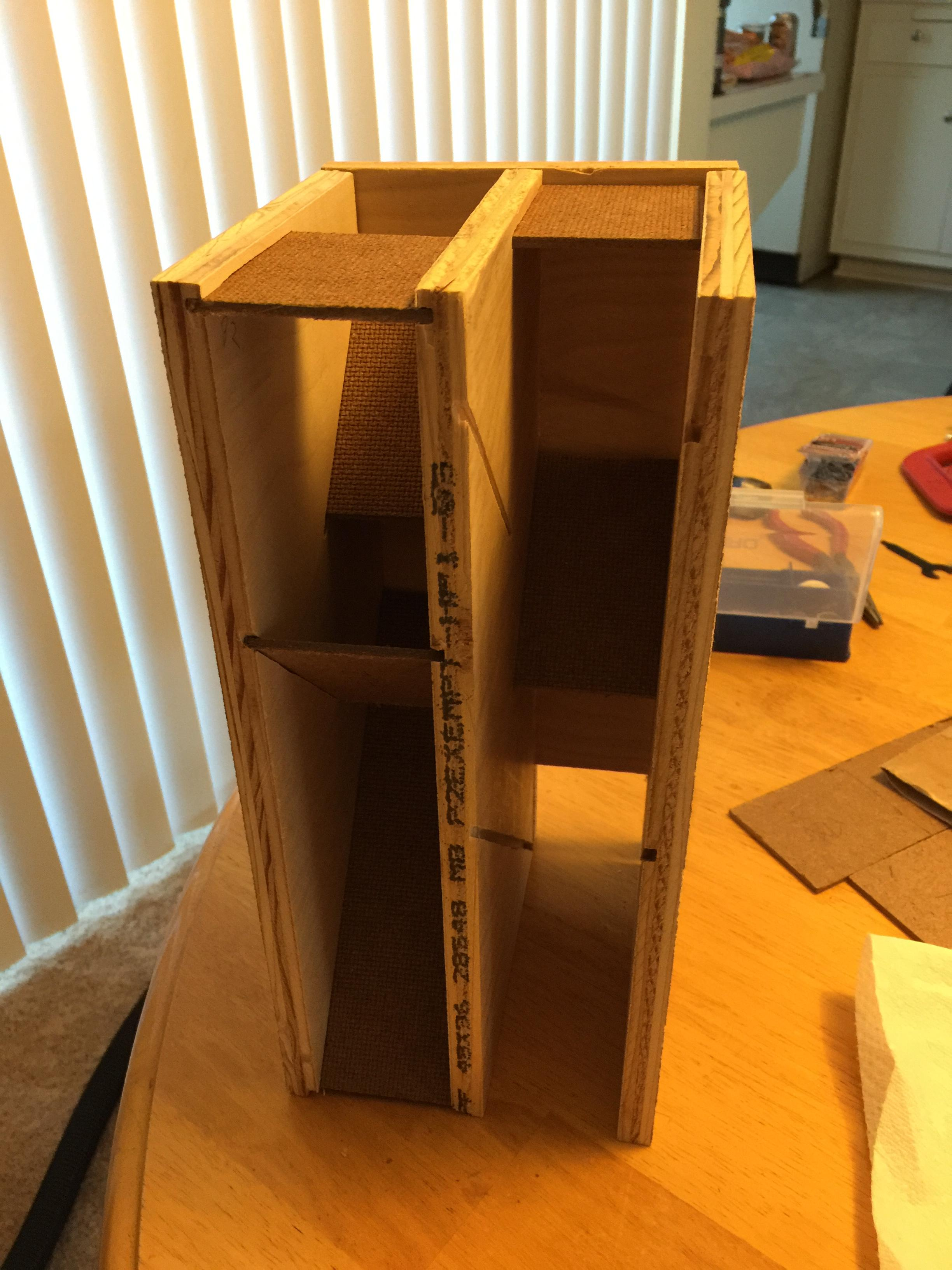 Tabletop Fan Constructs Custom Wooden Dm Screen The Escapist