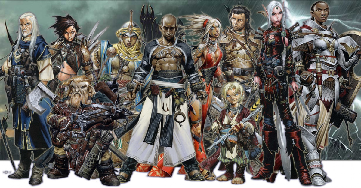Iconic Pathfinder Characters