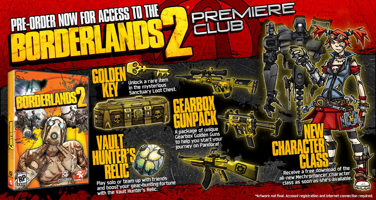 Borderlands 2 Special Editions Bring The Loot The Escapist