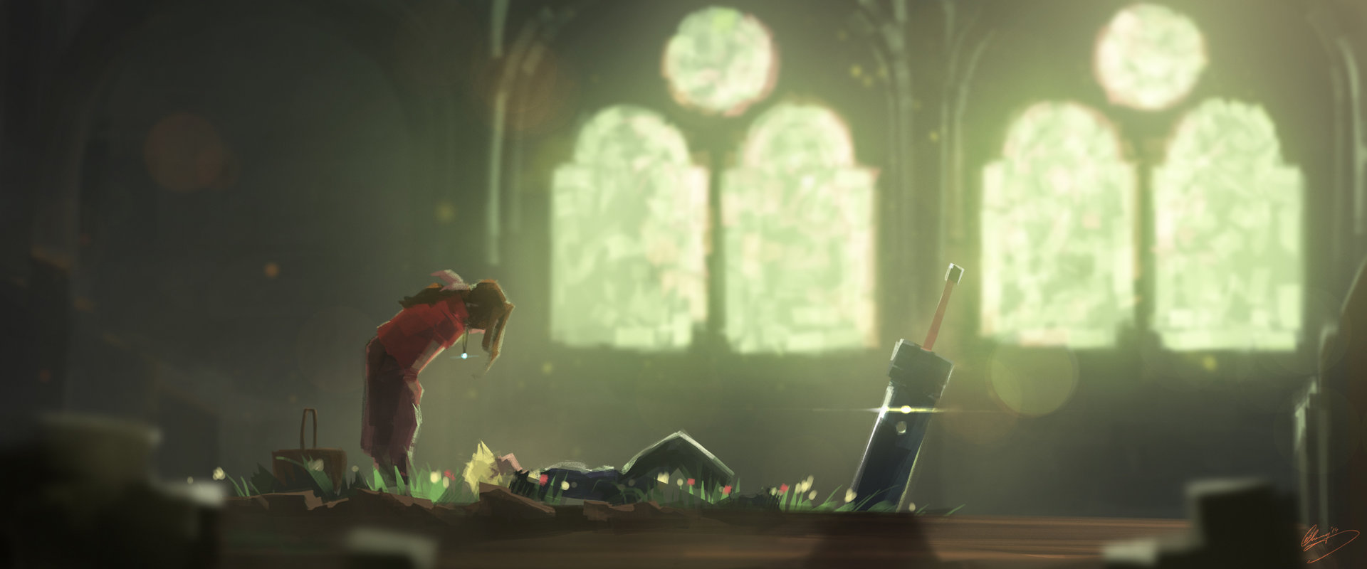 Artist Creates 130 Final Fantasy VII Art Pieces in Six Months | The ...