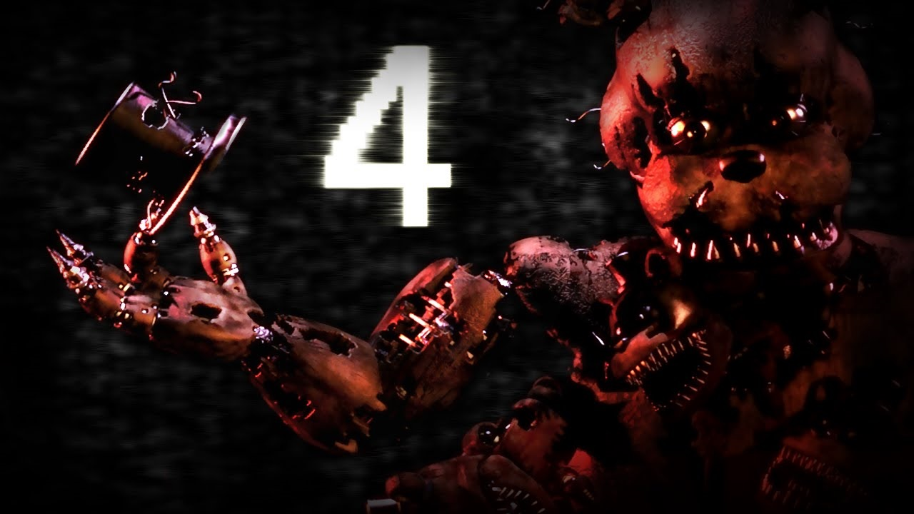 Five Nights at Freddy's 4 Logo Large