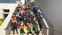 Every iteration of Robin seemed to gather at NYCC.