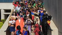 Heroes and Villains from all corners of the DC Universe were in attendance.