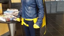 The latest incarnation of Batgirl, ready to kick butt in Gotham... er, London.