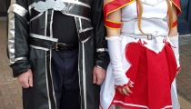 Kirito and Asuna finally meet outside the digital world of Sword Art Online.