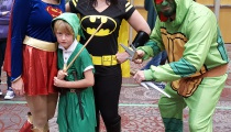 It's dangerous to go alone, Link! Take Supergirl, Batgirl, and Raphael with you.