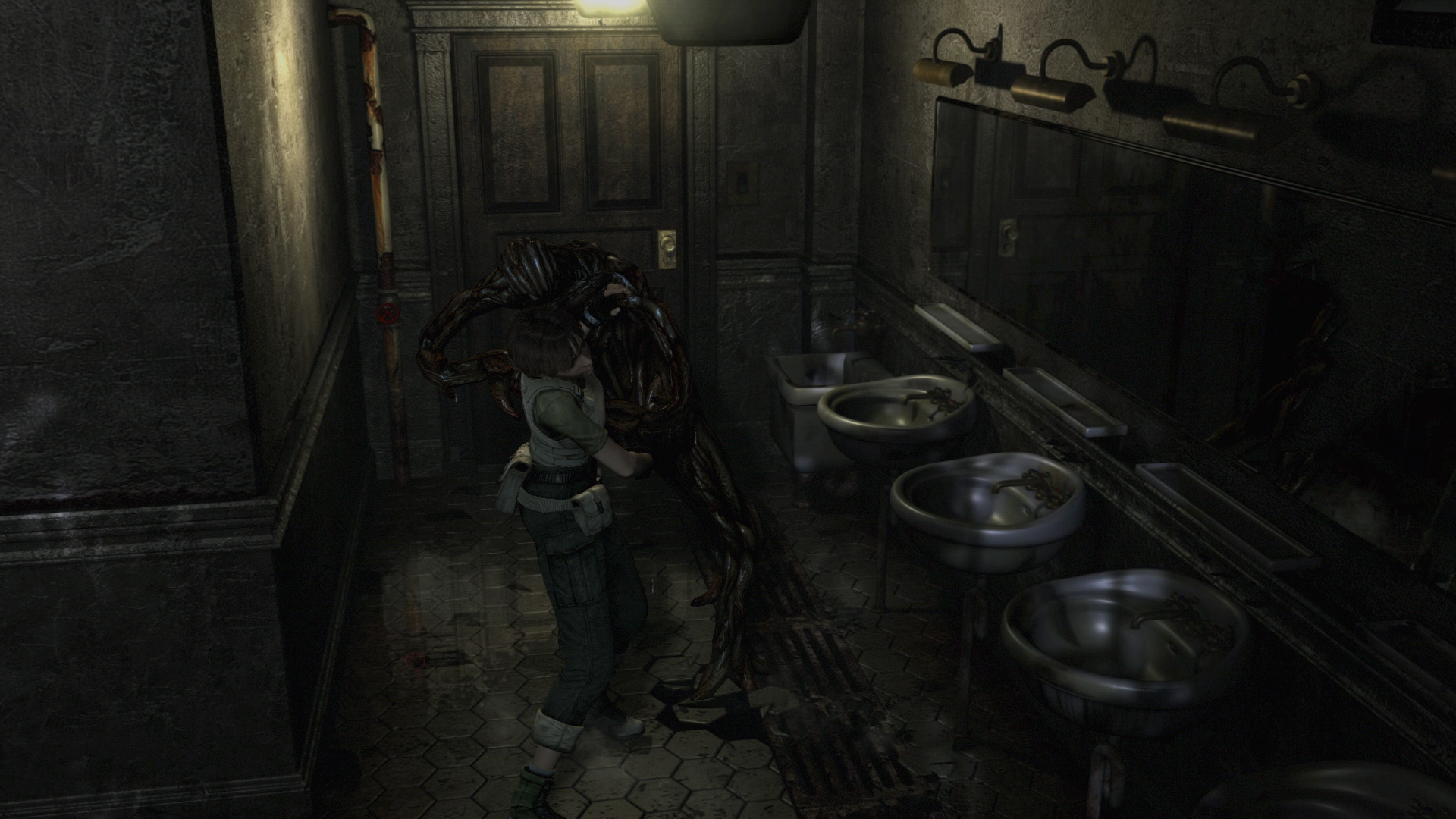 Resident Evil 0 HD Remaster Review   Reviews   The Escapist