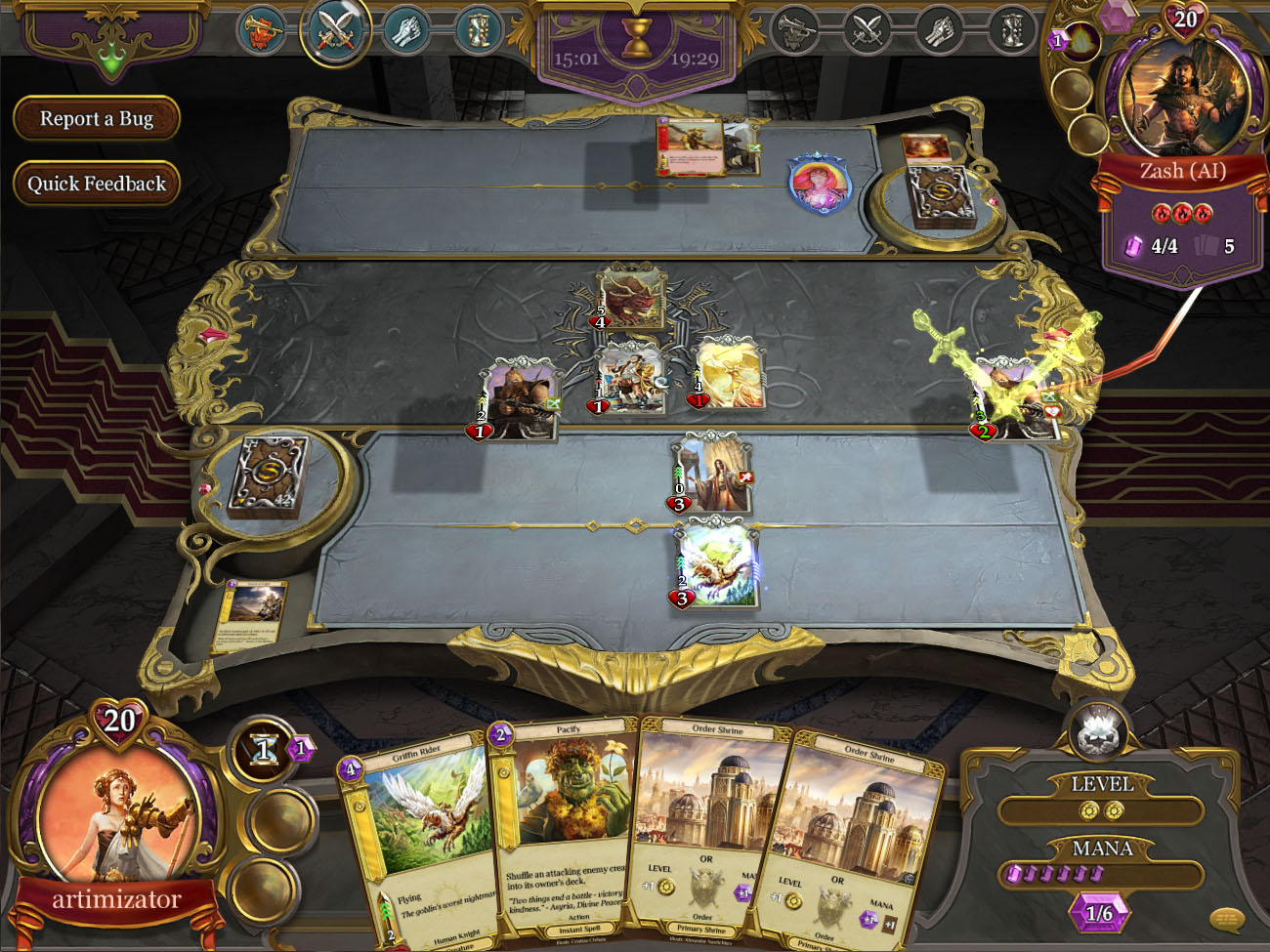 Spellweaver Review - A Familiar Trading Card Game | Reviews | The Escapist