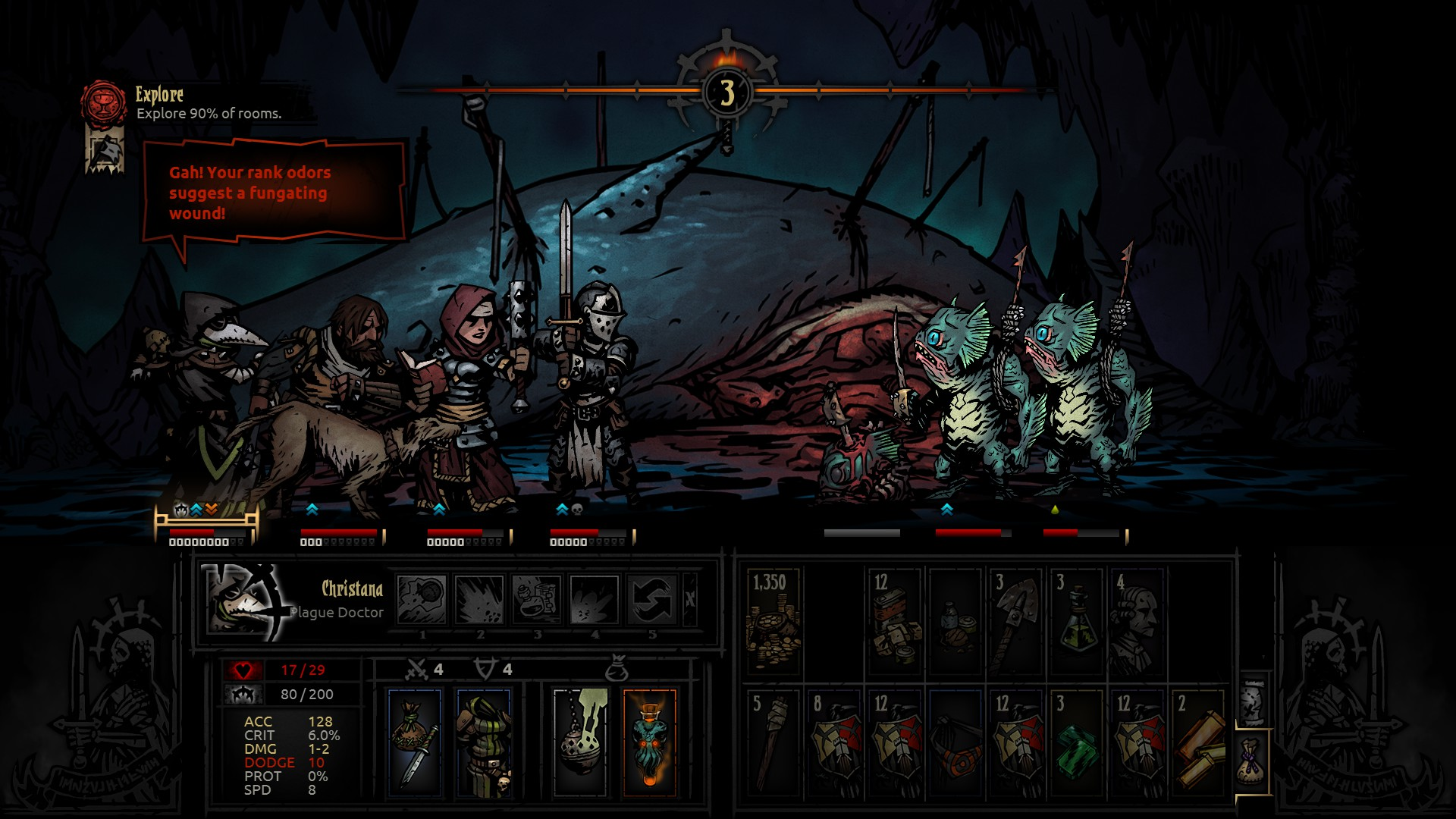 Darkest Dungeon Review   Reviews   The Escapist