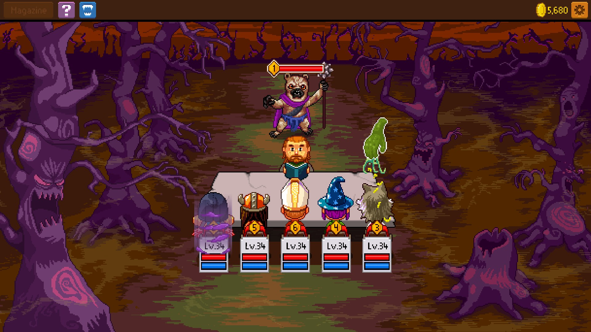 knights of pen and paper 2 end game