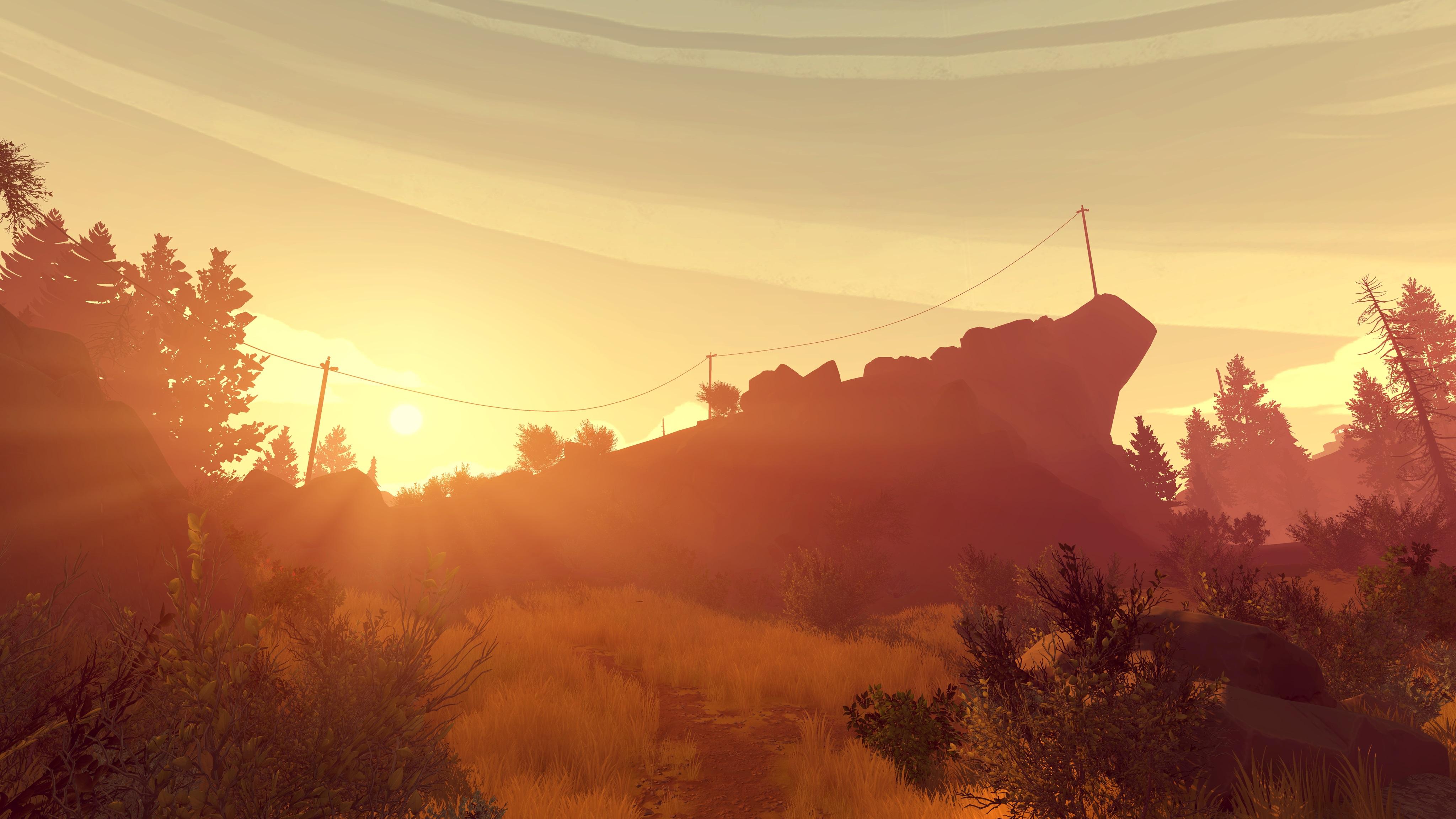 Firewatch Review Campo Santo Games Reviews The Escapist