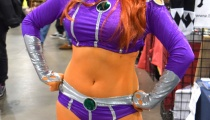 DC's finest, Starfire! Cosplay by Sapphire Nova