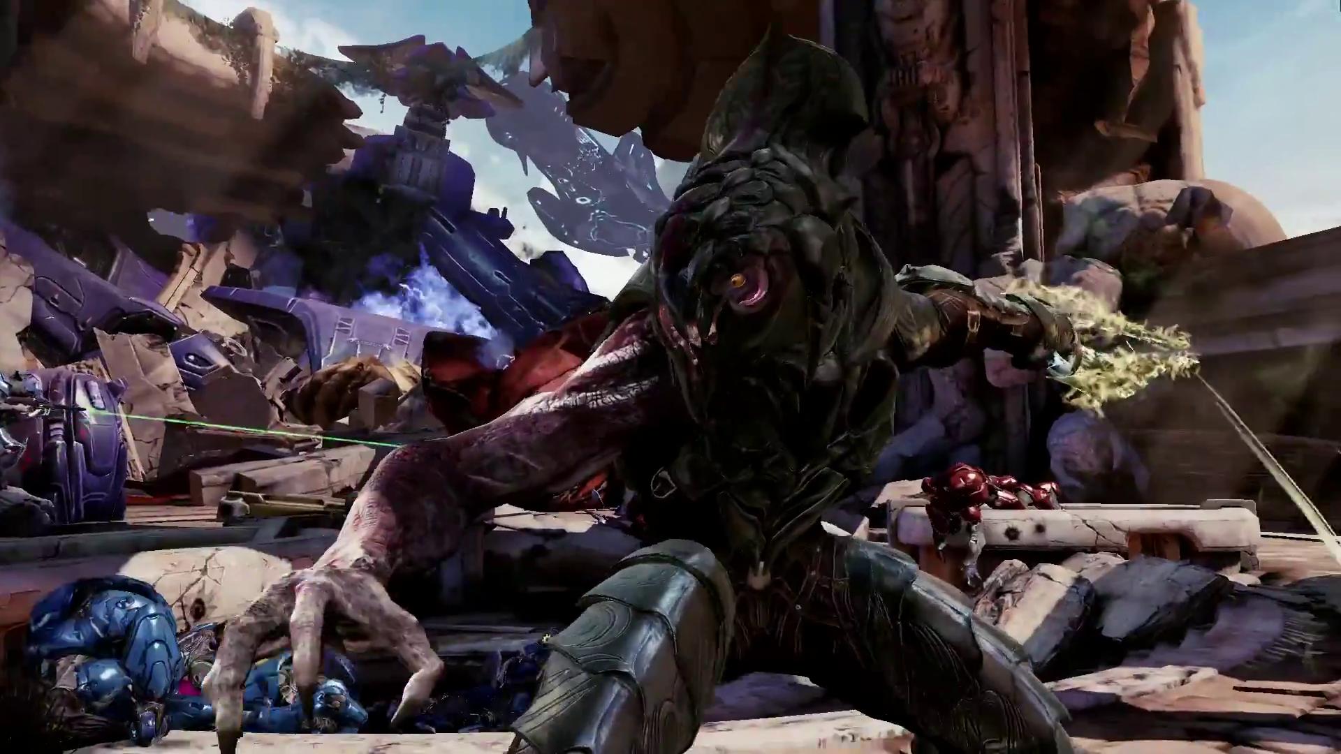 Killer Instinct Season 3 Halo Arbiter Announcement | The ... Xbox One Halo 5 Gameplay
