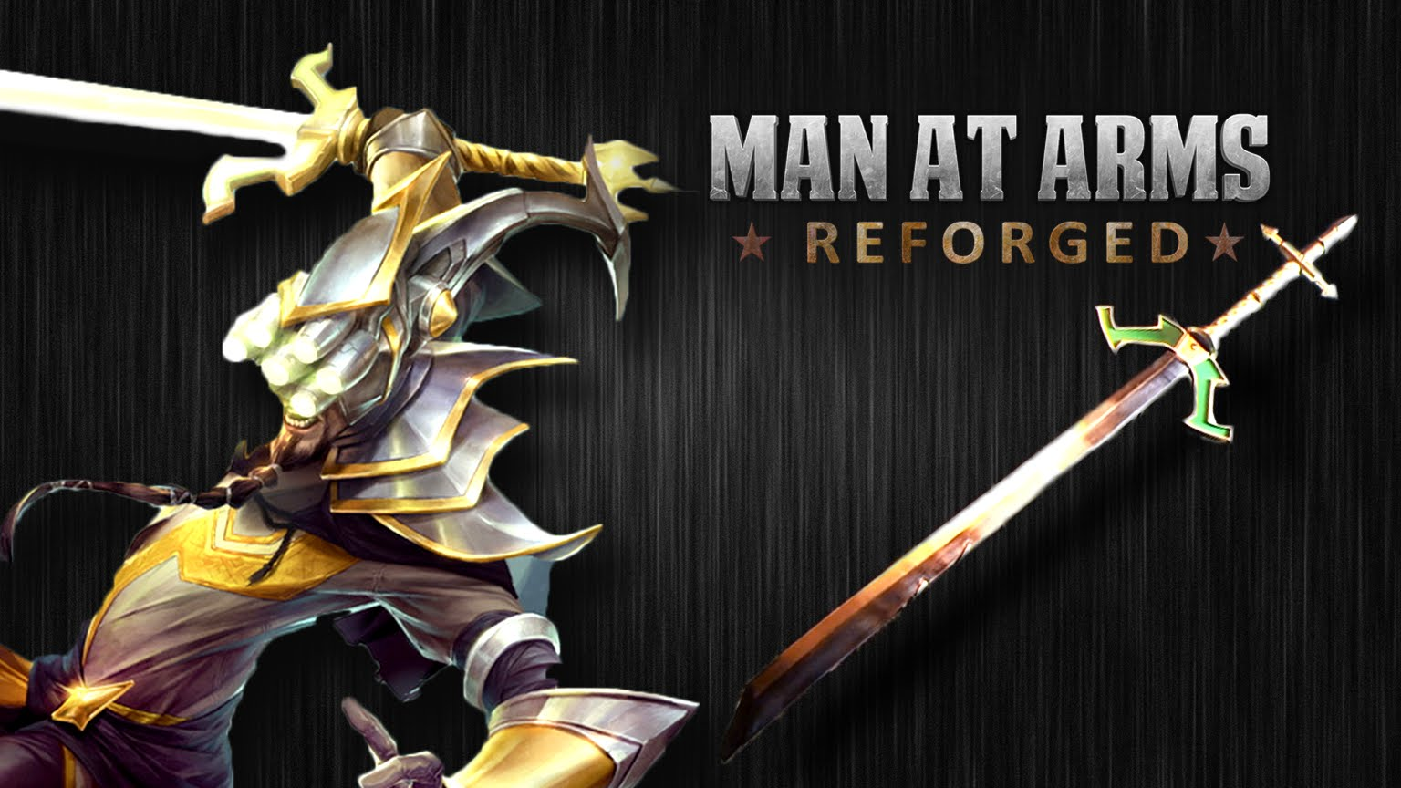 Master Yi Sword League of Legends | Man At Arms: Reforged