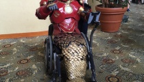 Iron-man cosplayed by Ronald B. Seaman Jr.