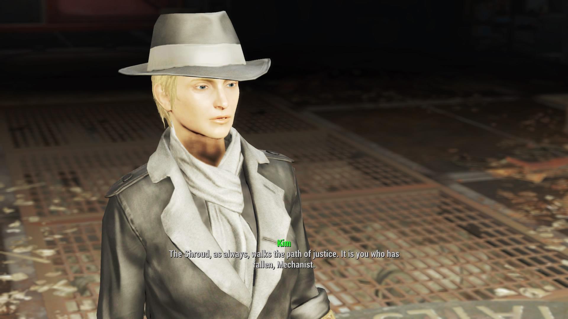 Fallout 4 Automatron Silver Shroud Easter Egg