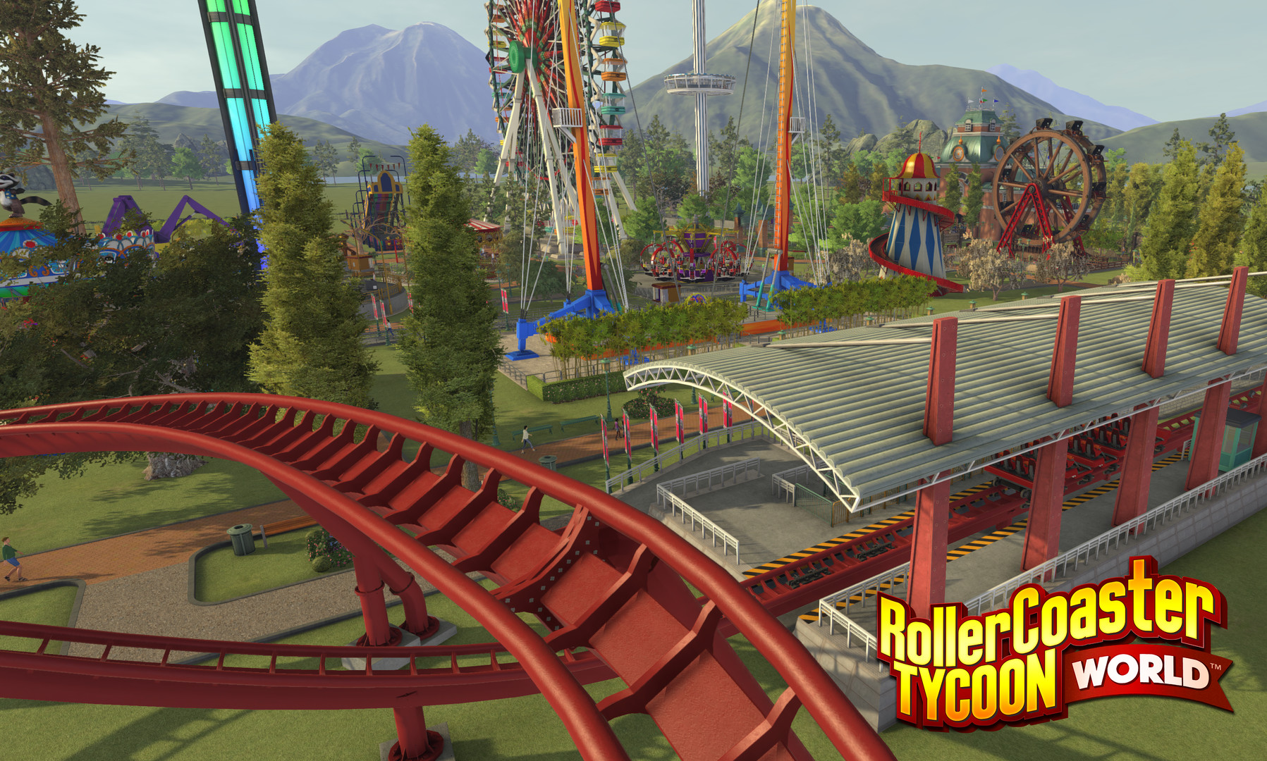 RollerCoaster Tycoon World Delay, Refunds, Early Access