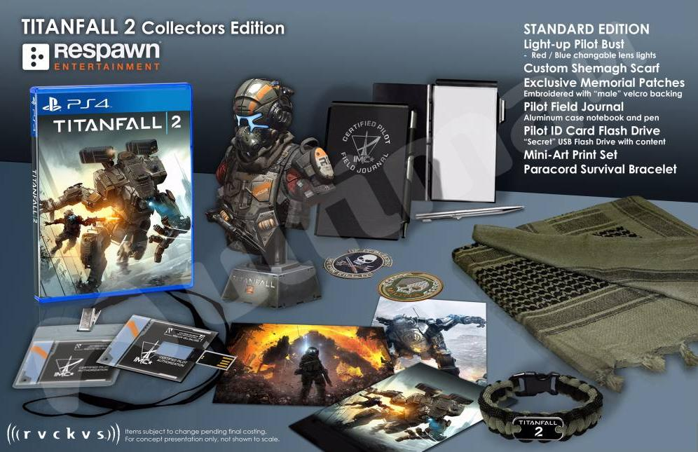Titanfall 2 Collector's Edition Leaked, Gameplay Teaser