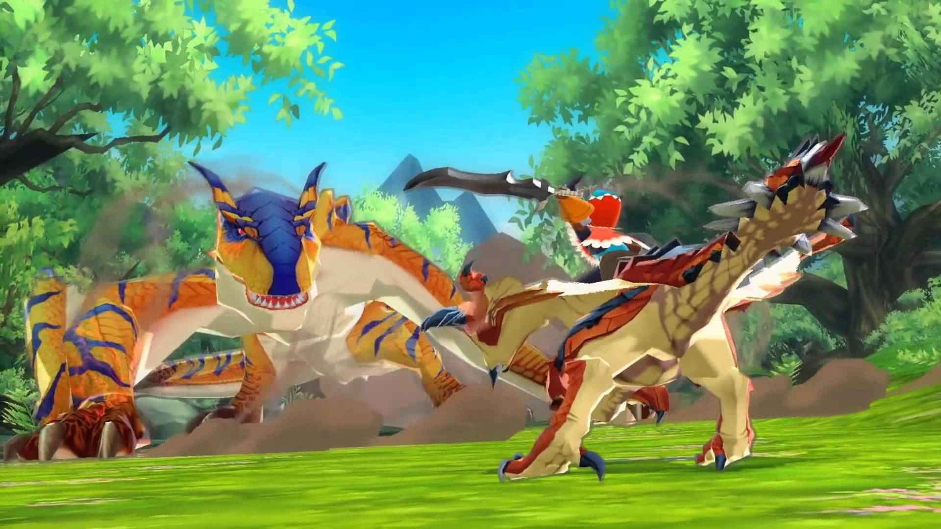 Monster Hunter Stories Tokyo Game Show Preview Video