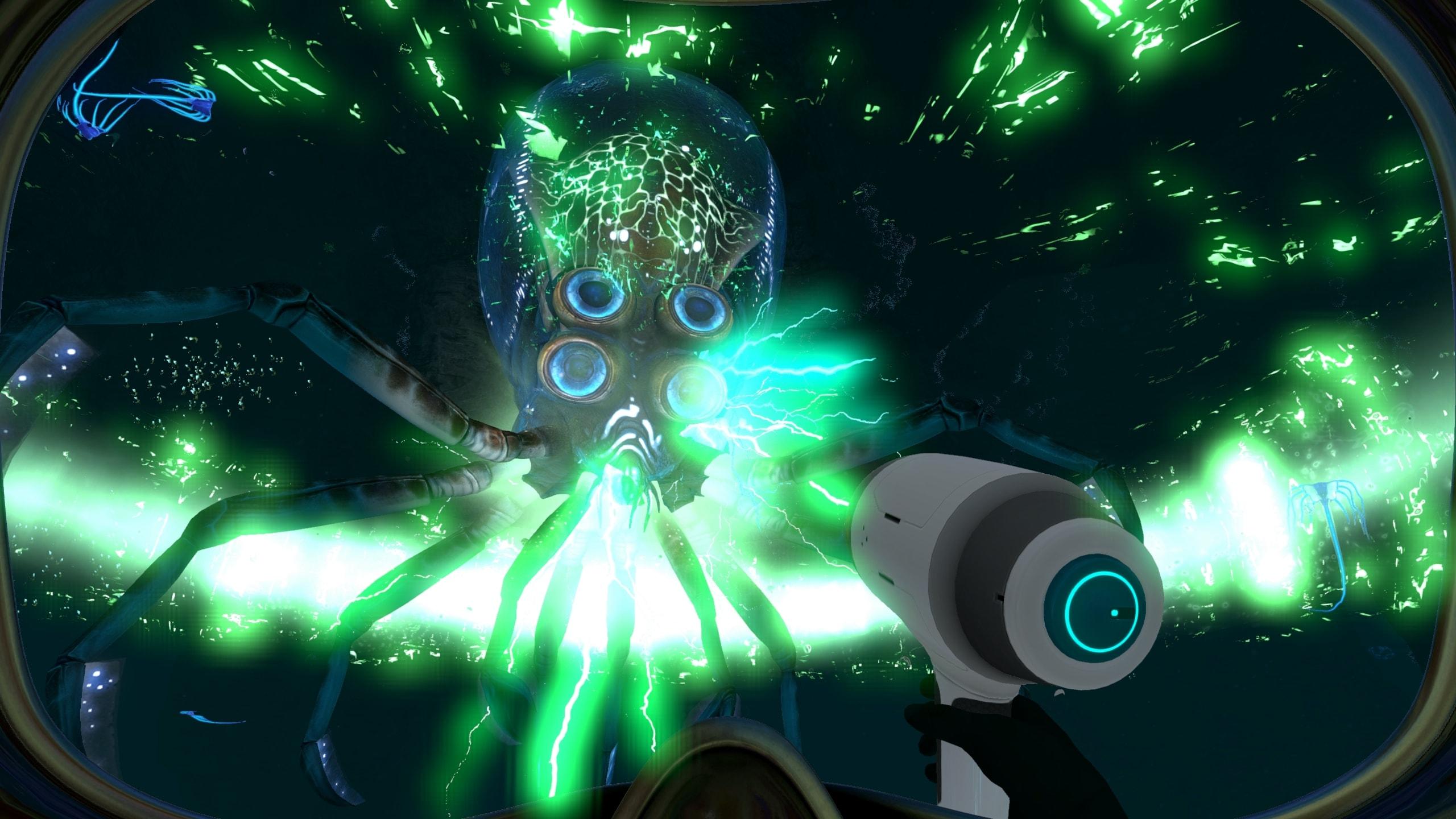 Subnautica Dangerous Creatures Update   The Escapist