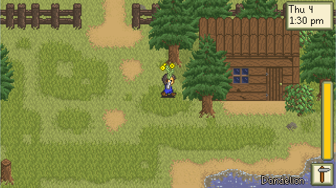 Check Out This Old 2012 Build of Stardew Valley
