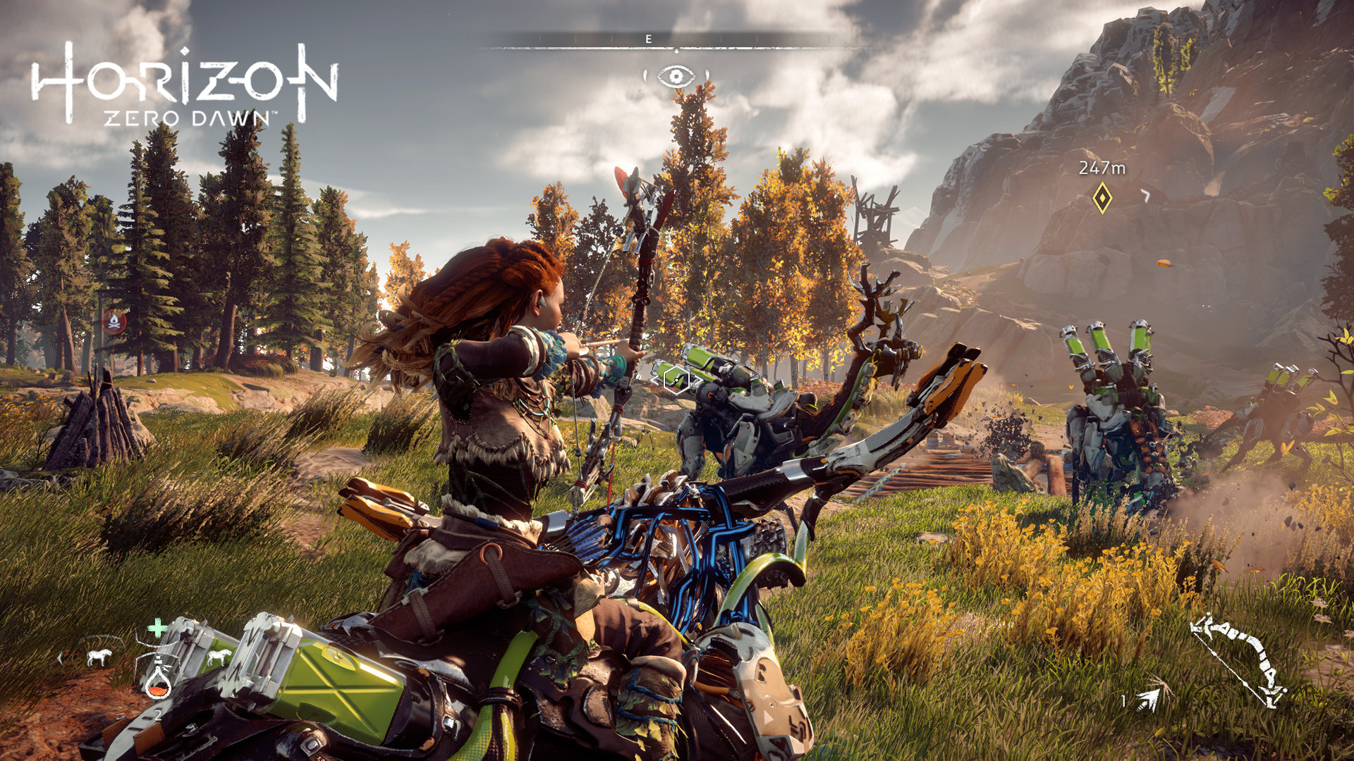 Horizon Zero Dawn Hits Stores Today See Trailer And Screens
