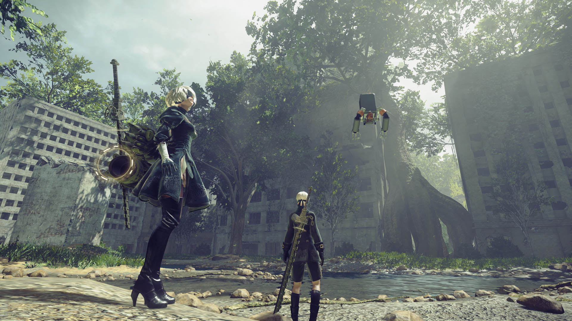 Nier: Automata Gets a Fan-Made Patch to Fix its Graphics