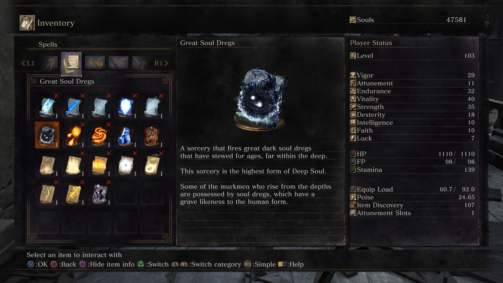 Dark Souls 3: The Ringed City - All Spells Locations Guide