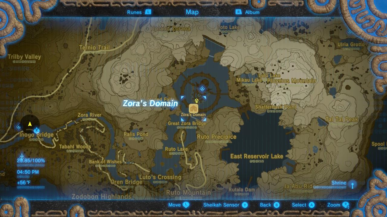 Legend Of Zelda Breath Of The Wild Best Armor Sets Locations