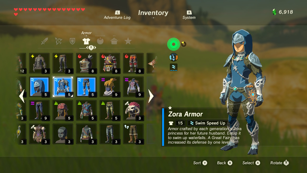 Breath Of The Wild Crafting Weapons