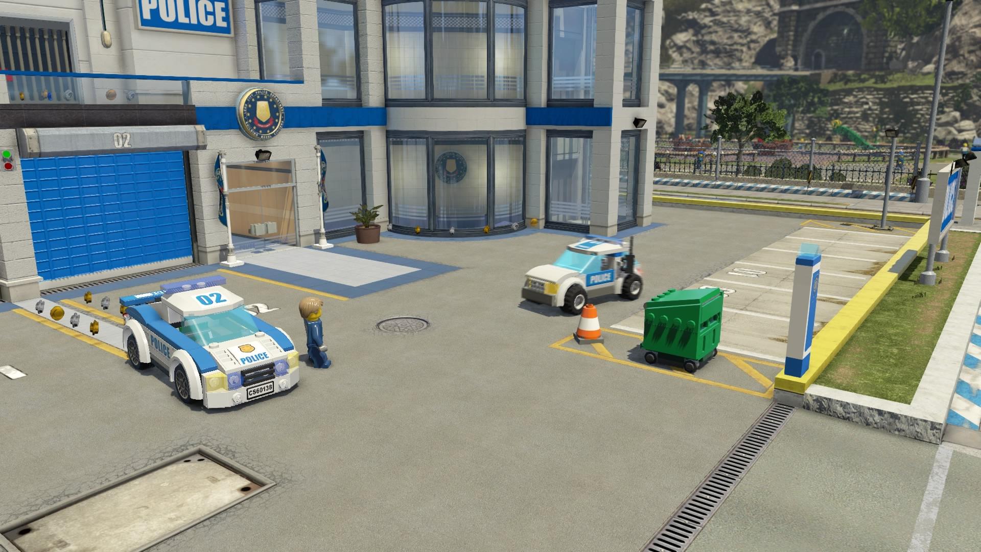 Lego Police Car Games