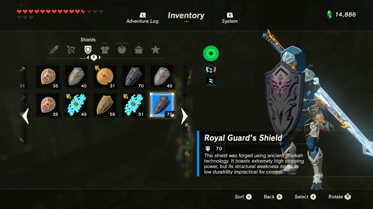 Legend Of Zelda Breath Of The Wild How To Get Royal Weapons Early Best Weapons Guide Walkthroughs The Escapist