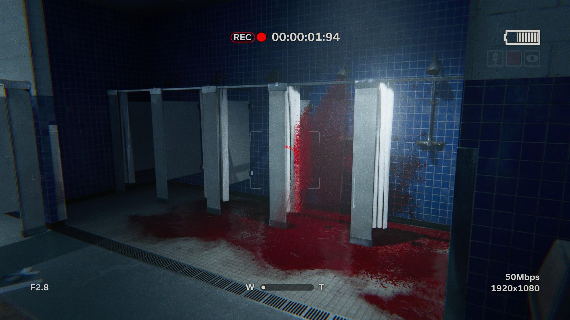 Danger Girl Shower Locker Room