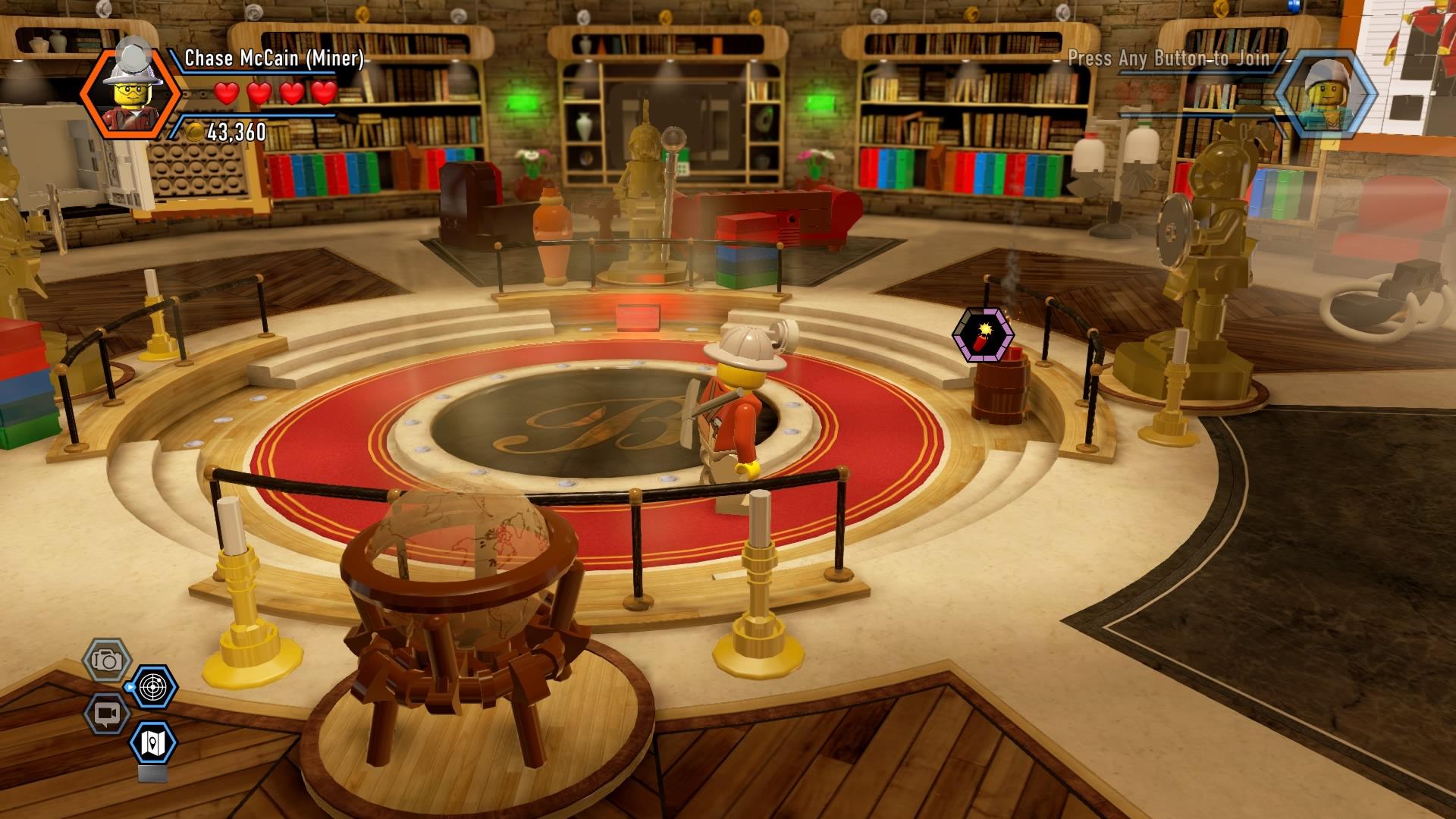 LEGO City Undercover Walkthrough   Chapter 13 Mansion ...