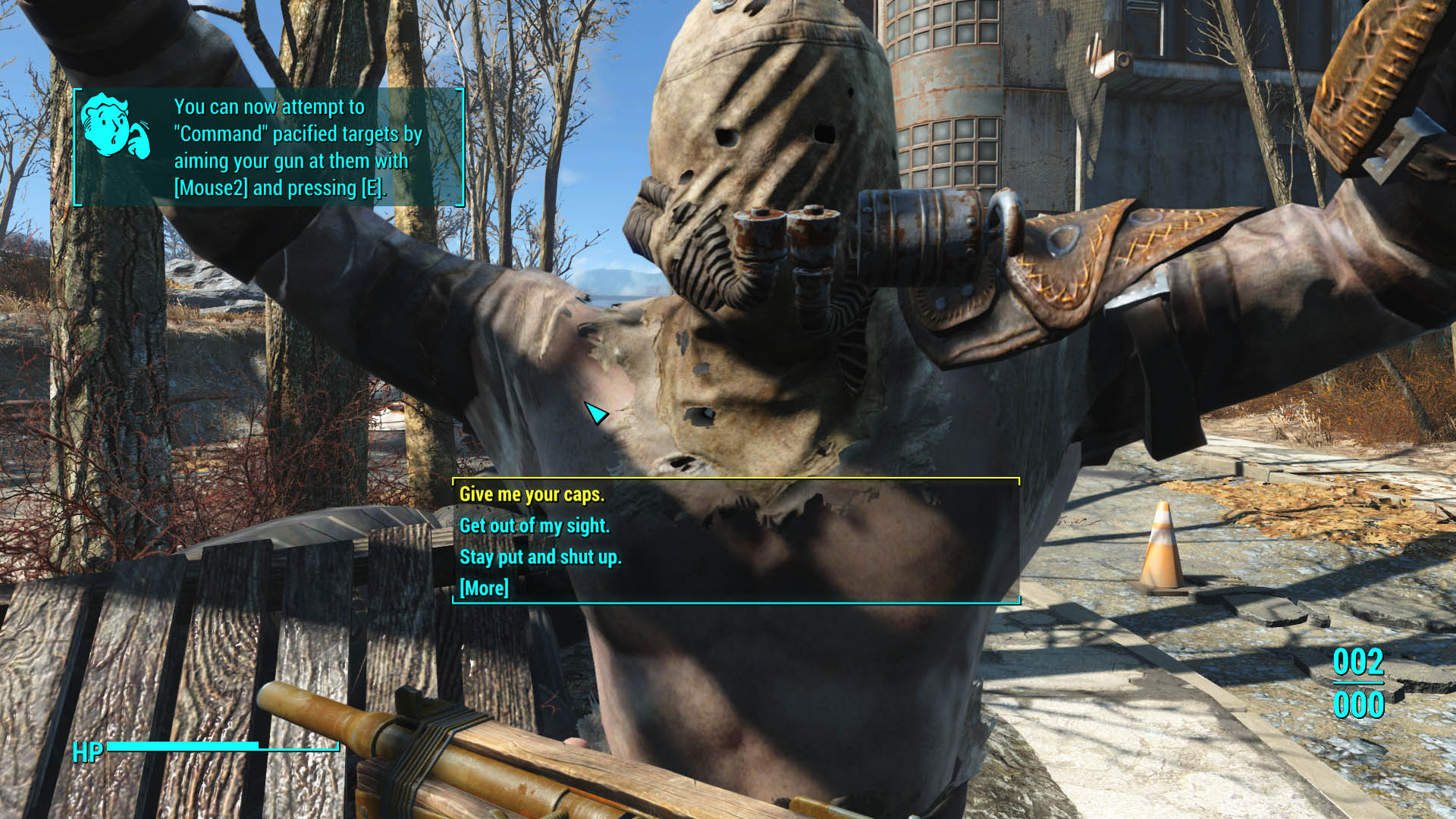 Fallout Intimidation Overhaul Mod Turns You Into Armed Robber | The