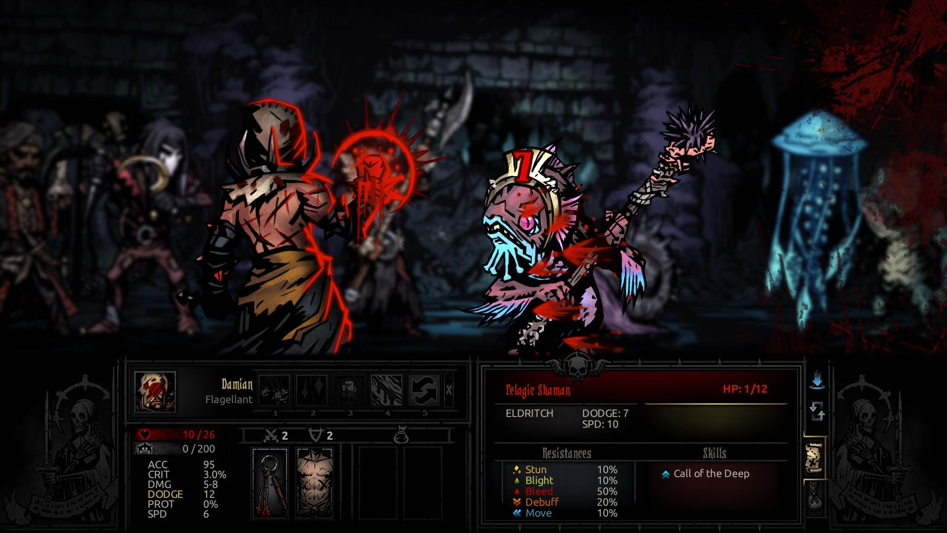 100% de calidad venta al por mayor buena venta Darkest Dungeon Crimson Court New Class The Flagellant | The ...