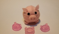 The Pick Pack! Also including plush felt pig and piggy soap (1 is bacon scented), from Tally Heilke