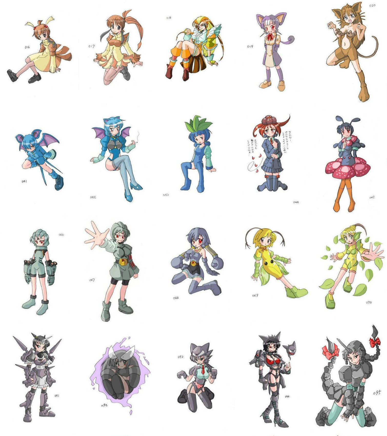 pokemon anime girls