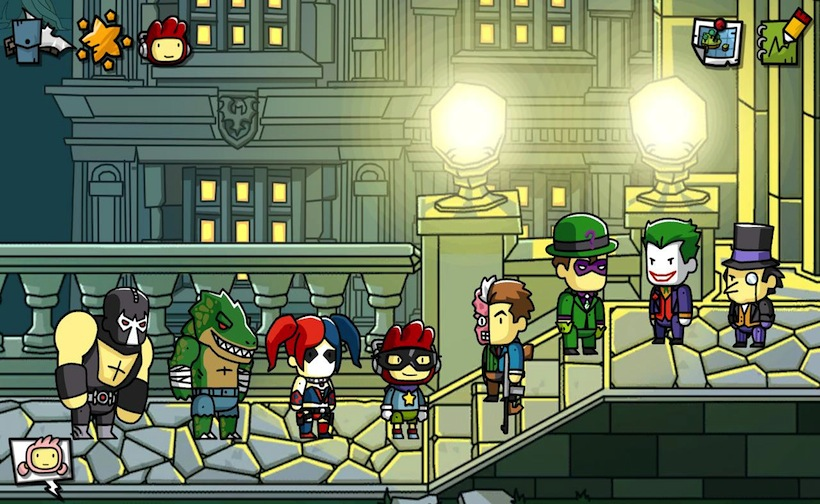 Scribblenauts Unmasked Has Every DC Comics Character