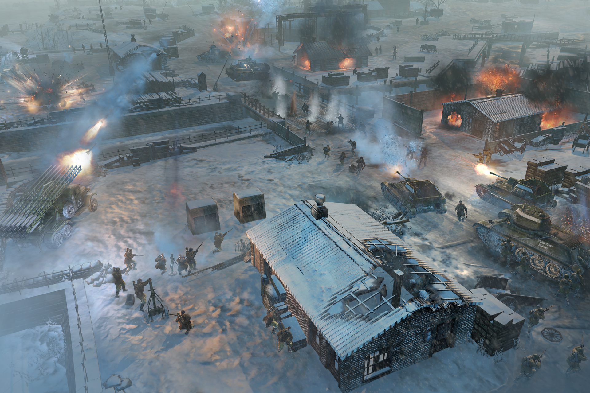 Company Of Heroes 2 Review It S Very Cold In Russia Reviews