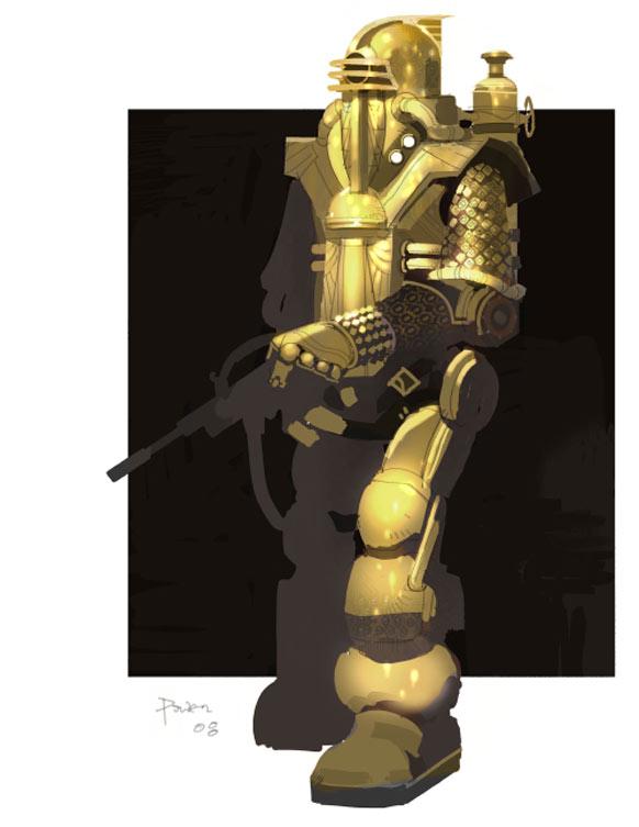Bioshock 2 Big Daddy Concept The Escapist