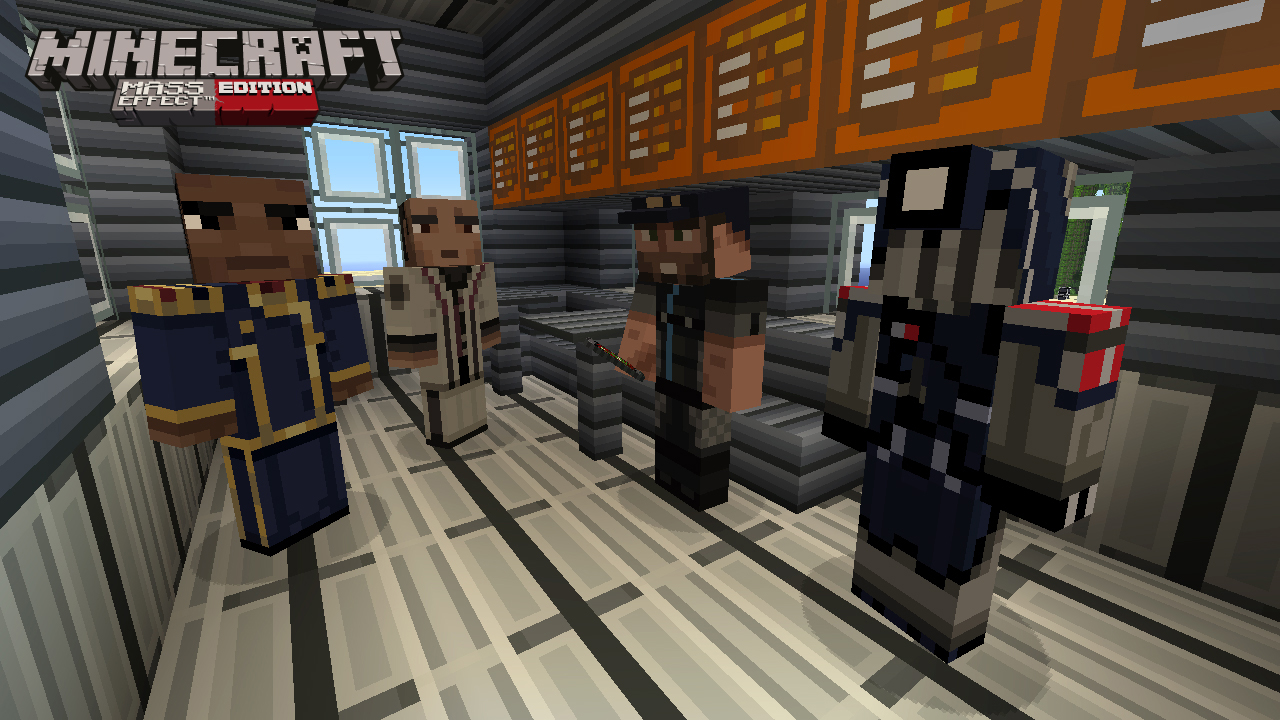 Minecraft Meets Mass Effect In Xbox Exclusive DLC