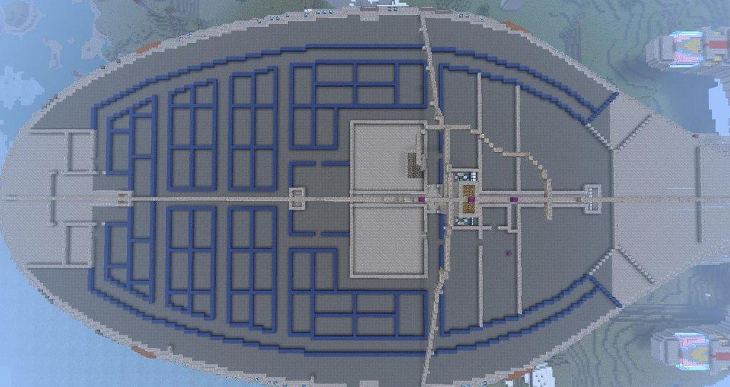 Minecraft Builder Constructs Full Scale USS Voyager   The ... on galaxy star trek lcars schematics, star trek prometheus schematics, deep space nine schematics, uss enterprise schematics, delta flyer schematics, sci-fi spaceship schematics, ship schematics, gilso star trek schematics, federation runabout schematics, starship schematics, star trek enterprise schematics, babylon 5 schematics, seaquest dsv schematics,
