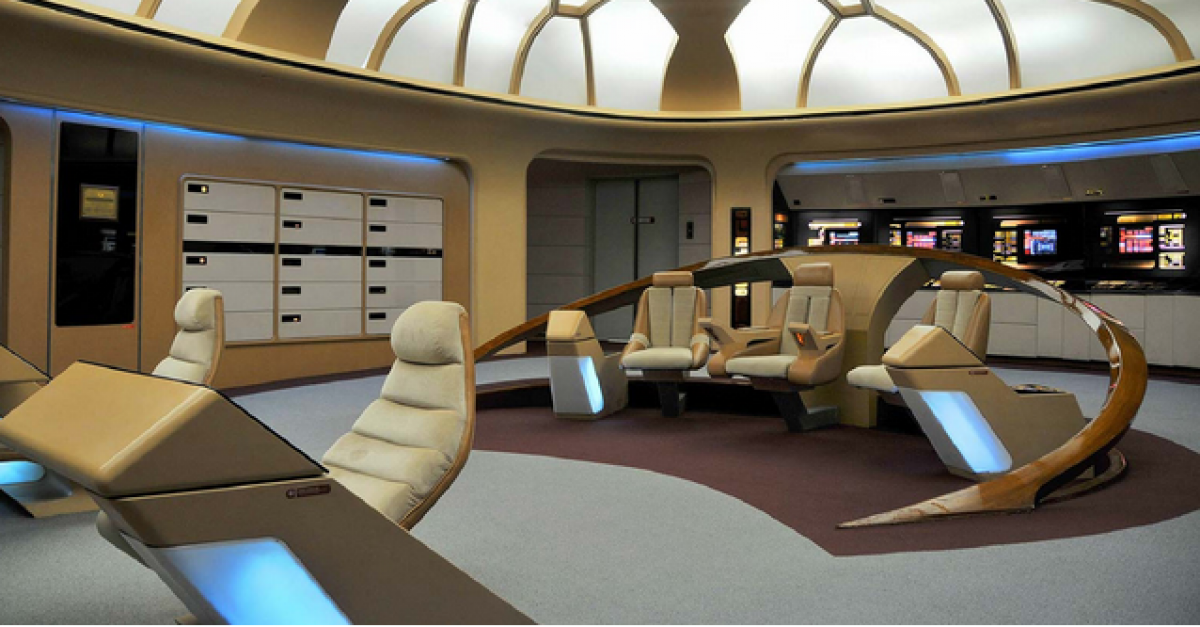 Nsa Chief Built The Star Trek Tng Enterprise Bridge The
