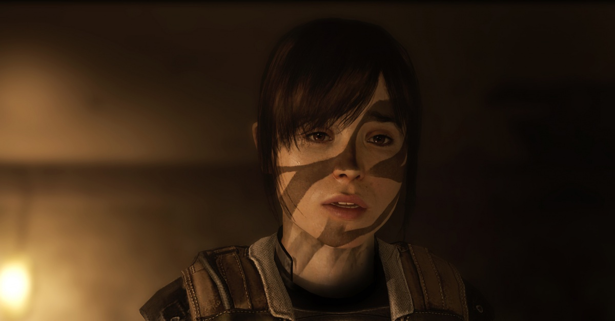 Ellen Page Nudity in Beyond: Two Souls Triggers Aggressive Sony Response   The Escapist