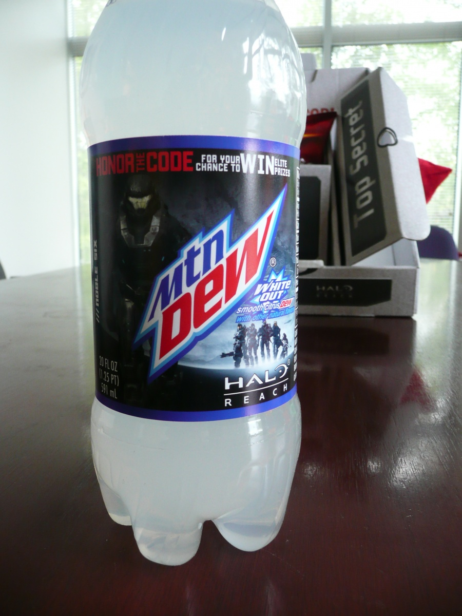 Does the World Need Halo: Reach-themed Mountain Dew?   The