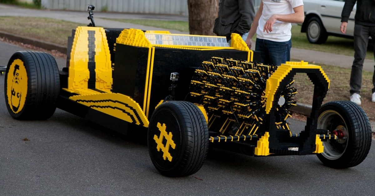 Romanian Teen Builds Full-Size, Drivable Lego Car | The ...