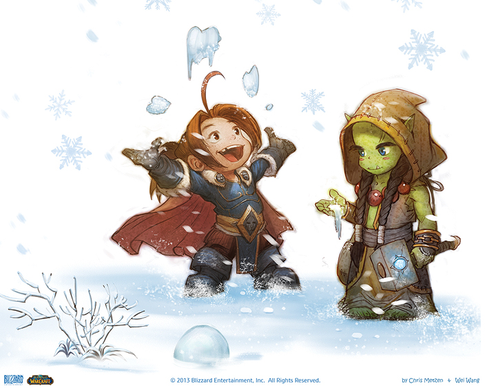 world of warcraft christmas cards the escapist - World Of Warcraft Christmas