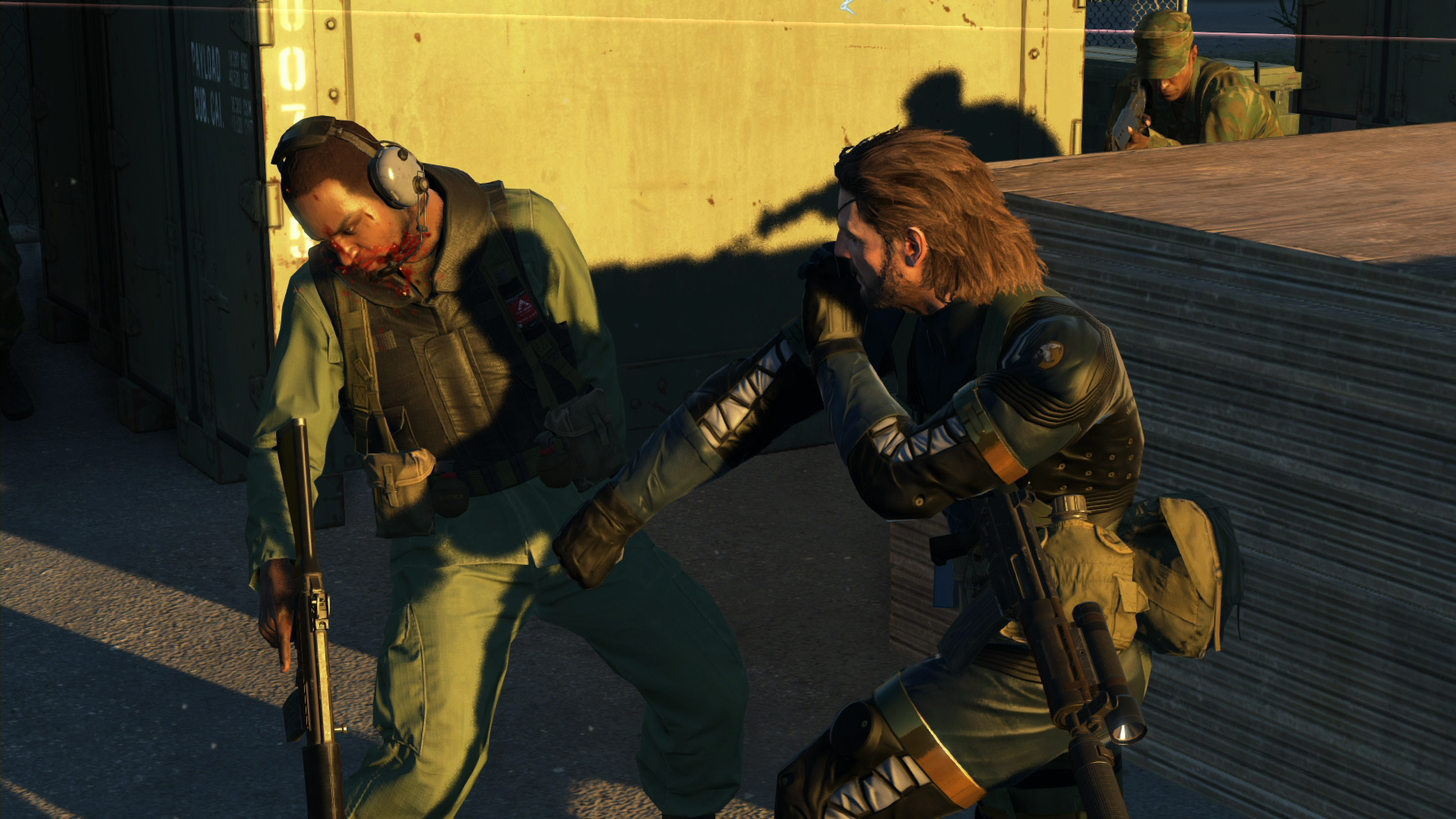 Metal Gear Solid V Ground Zeroes 40 Demo Zero Punctuation Game Ps4 The Definitive Experience Video Gallery Escapist